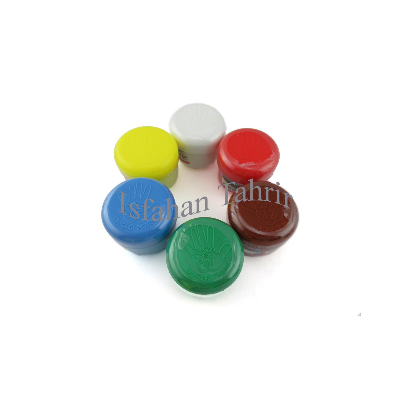رنگ انگشتی آریا ۶ رنگ (Arya)