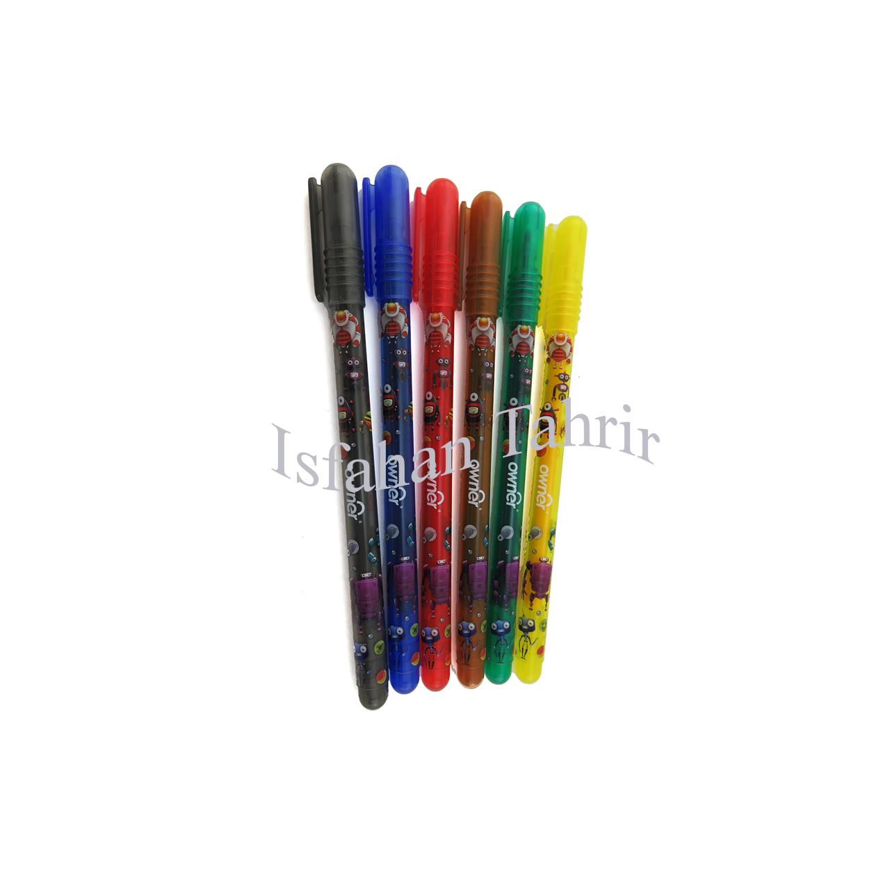 ماژیک نقاشی اونر۶ رنگ Owner
