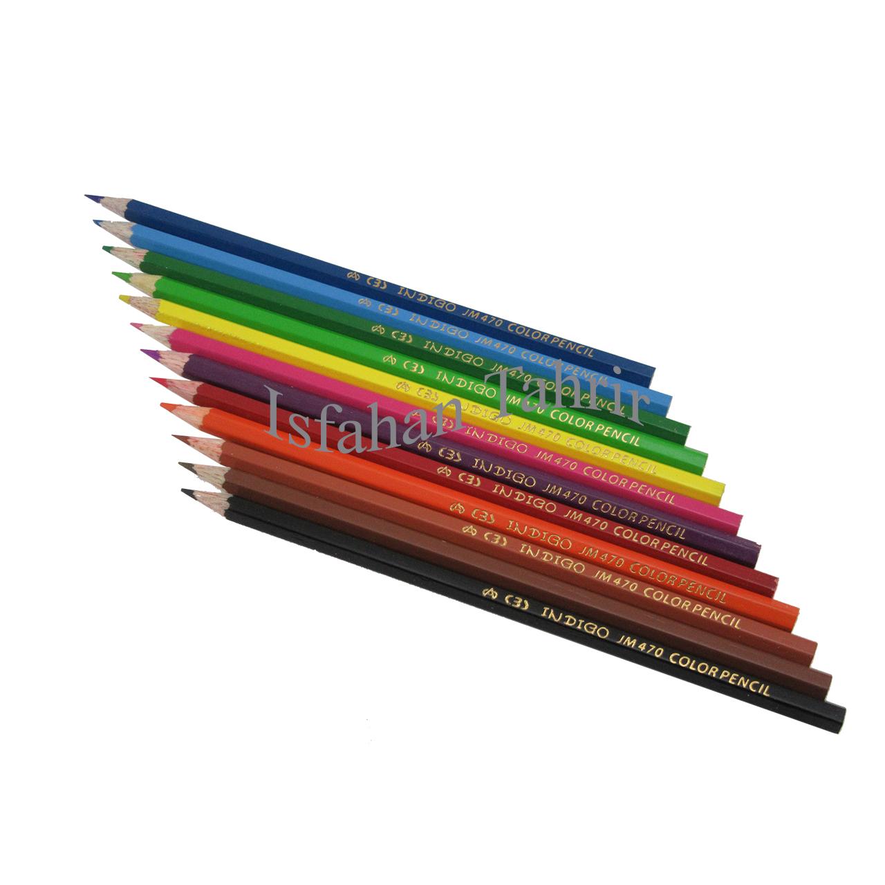 مداد رنگی ۱۲ رنگ سی بی اس مقوایی (CBS)