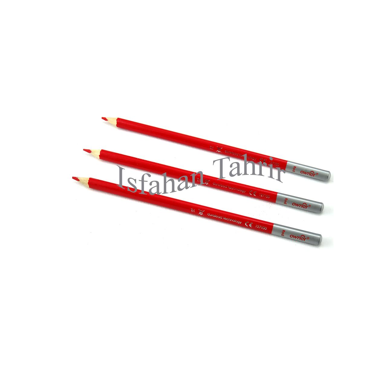 مداد قرمز اونر سه گوش Owner