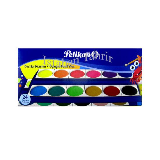 آبرنگ پلیکان 24 رنگ