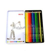 مداد رنگی ۱۲ رنگ فلزی فکتیس FACTIS