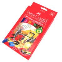 مداد رنگی۳۶ رنگ فابرکاستل مقوایی FABER CASTELL