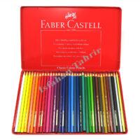 مداد رنگی ۳۶ رنگ فابر کاستل فلزی
