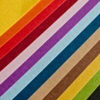 مقوای فابریانو (الر) رنگی۵۰*۷۰