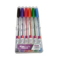 خودکار 6 رنگ کریستال کیان