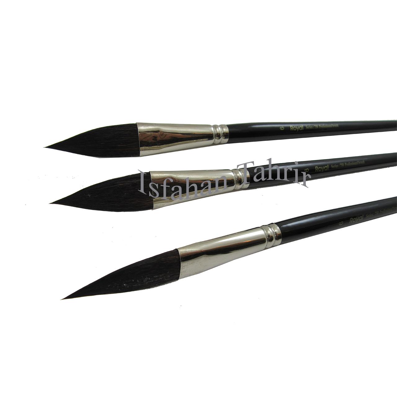 قلم مو رویال سرتیز سری 750 سایز 6