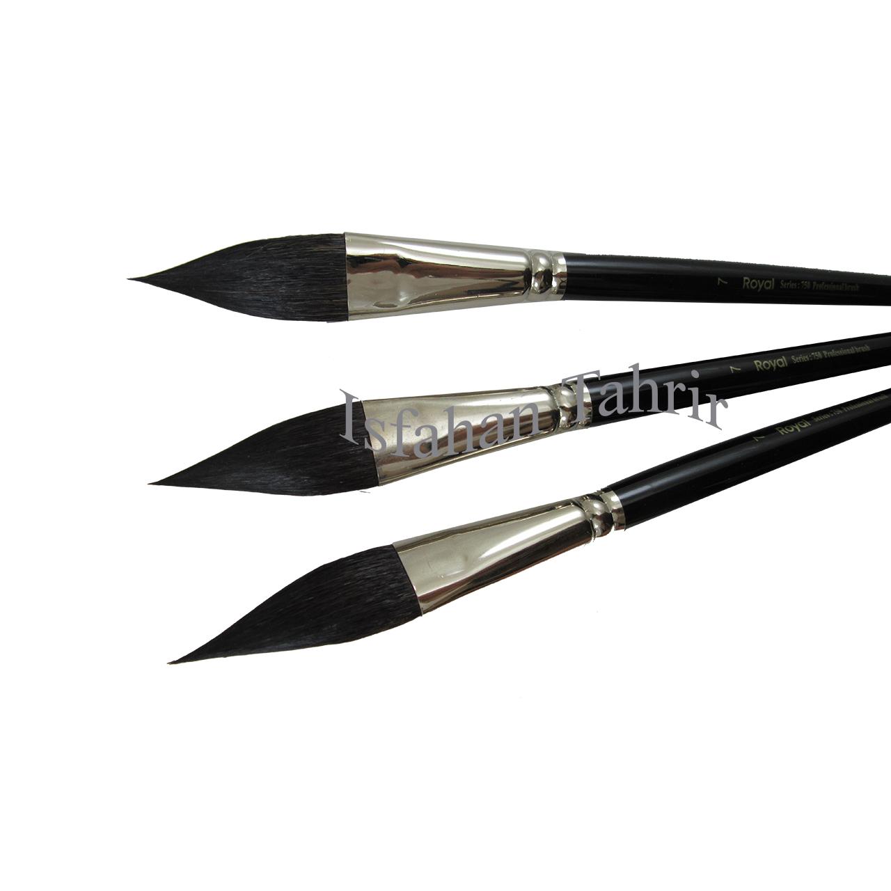 قلم مو رویال سرتیز سری 750 سایز 7