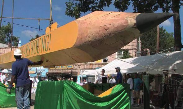 بزرگ ترین مداد جهان