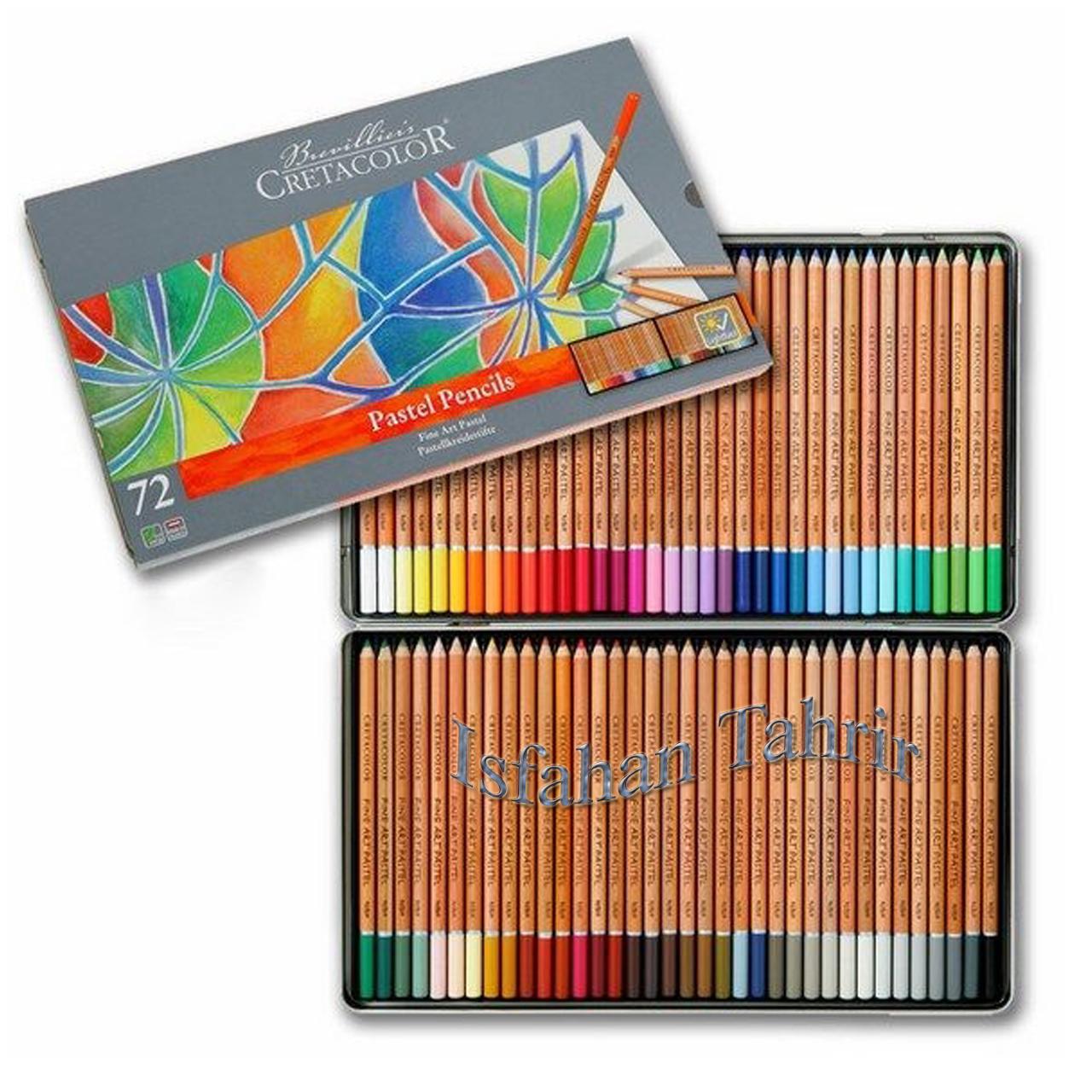 پاستیل مدادی 72رنگ کرتاکالر