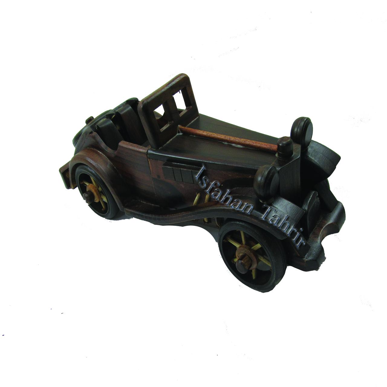 ماشین مرسدس بنز کروک چوبی