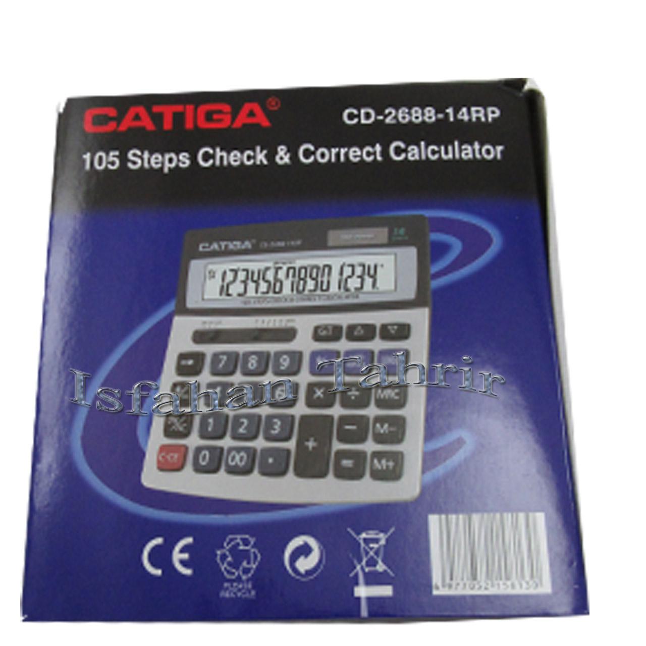 ماشین حساب کاتیگا CD-268814RP